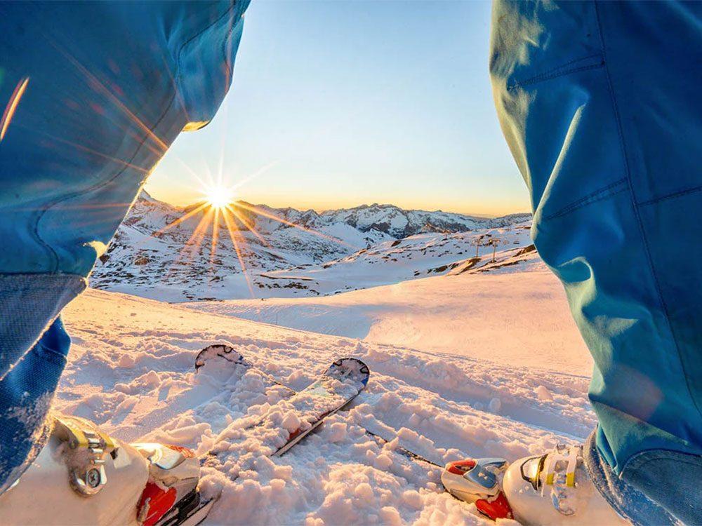 Chaussez les skis pour contrer la dépression saisonnière.
