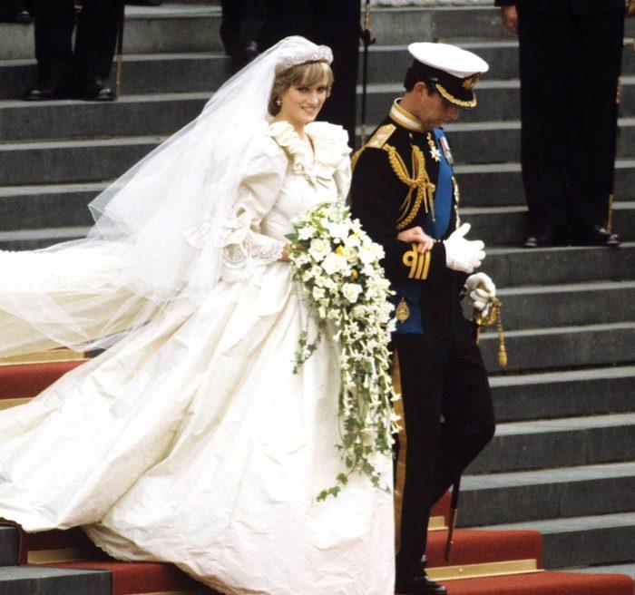 Diana s'est trompé lorsqu'elle a prononcé ses voeux de mariage.