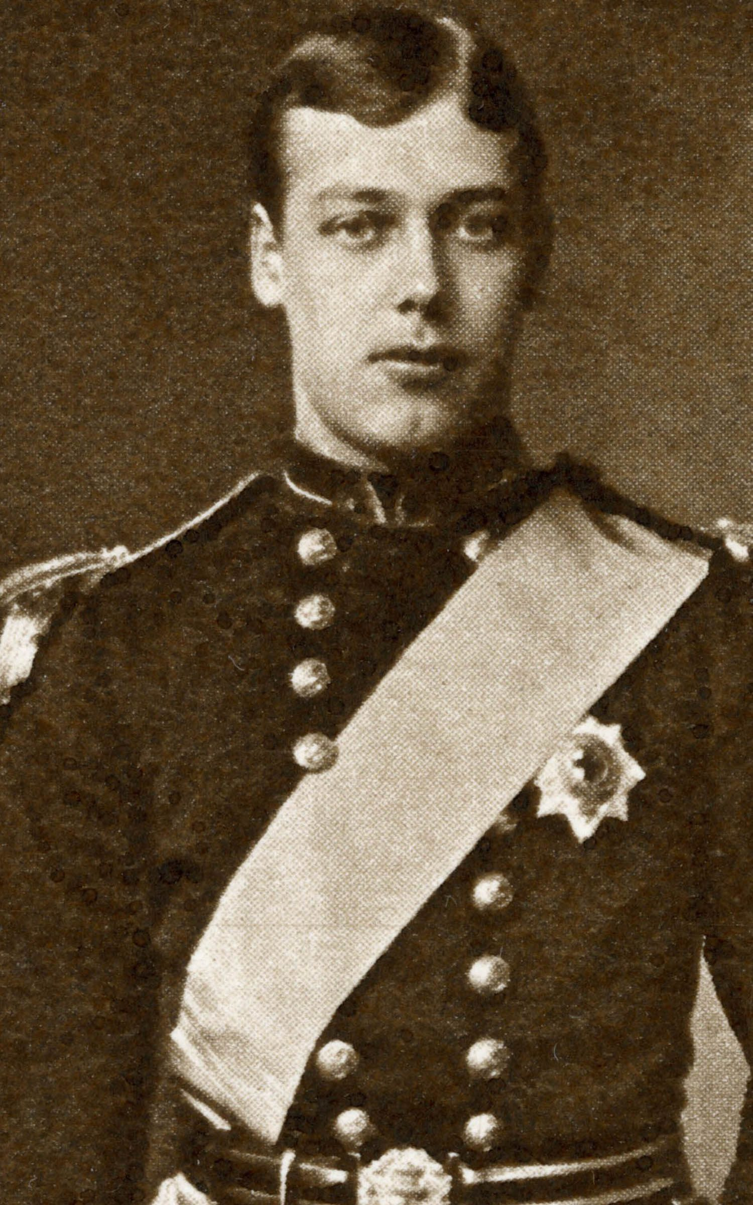 Famille royale : photo de George V, le prince Harry de son époque .