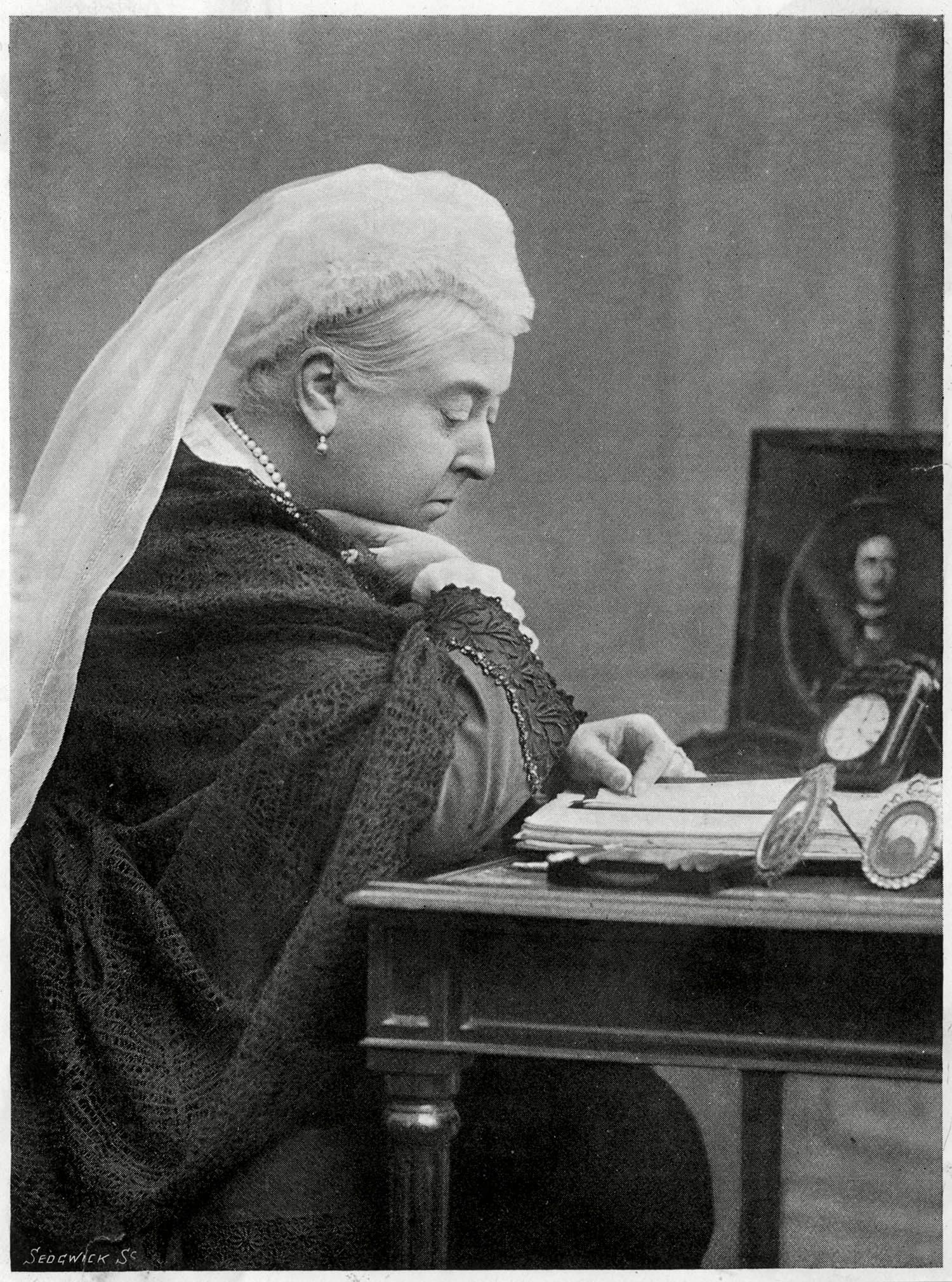 Famille royale : photo de la reine Victoria à l'apogée de son règne.