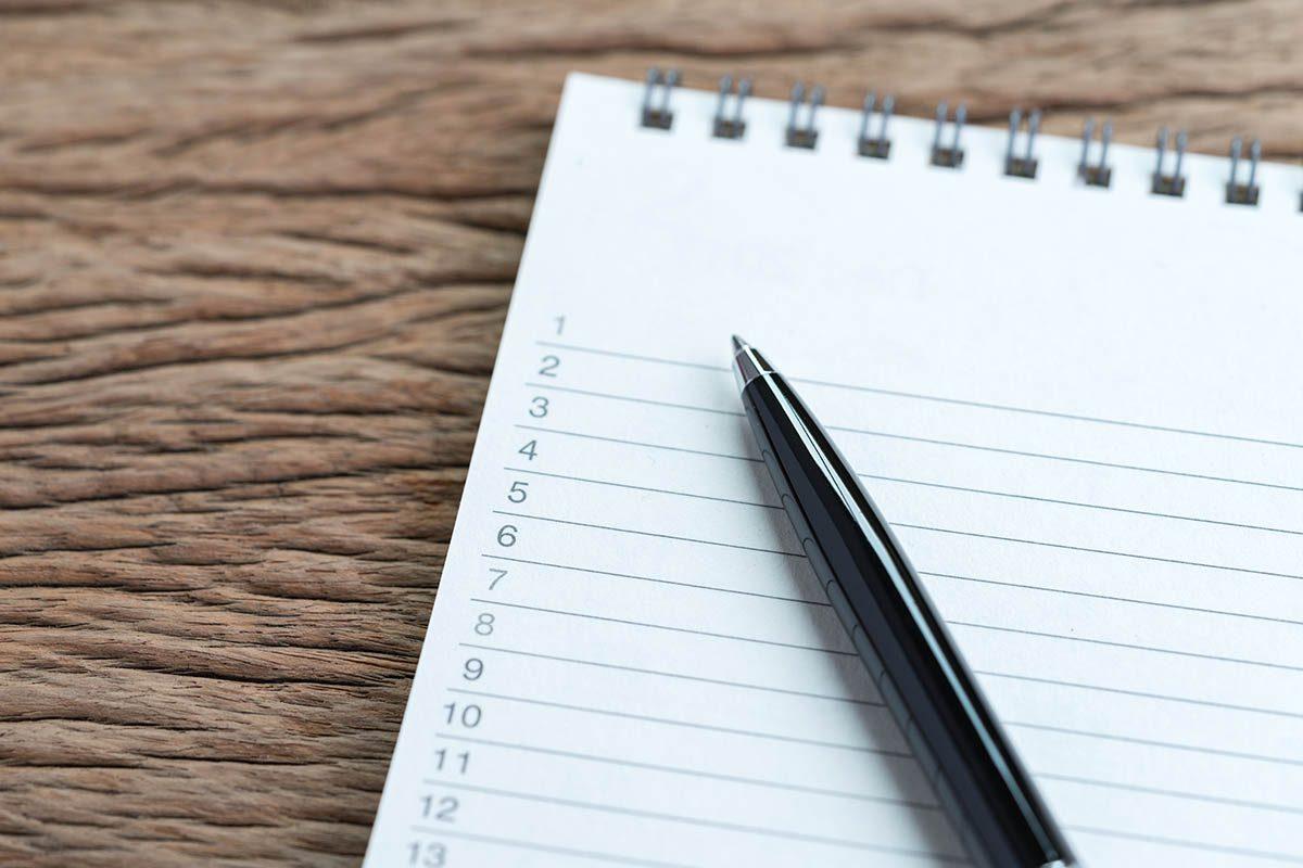 Gestion du temps : divisez les travaux en petites tâches à accomplir.