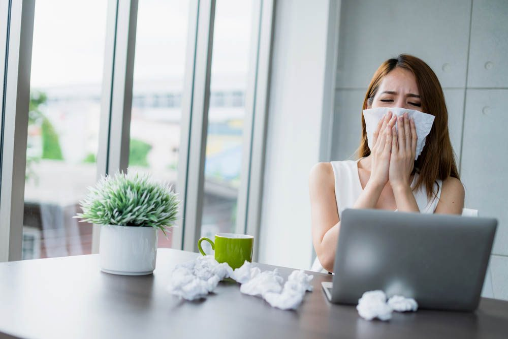 La grippe est très contagieuse.