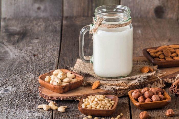 Variez les goûts des gruaux avec des laits différents.