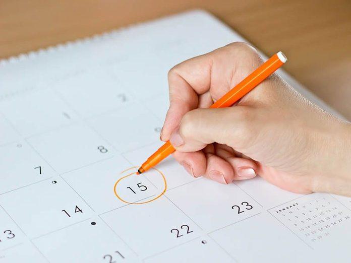 N'hésitez pas à demander des choses sur vos menstruations à votre gynécologue.