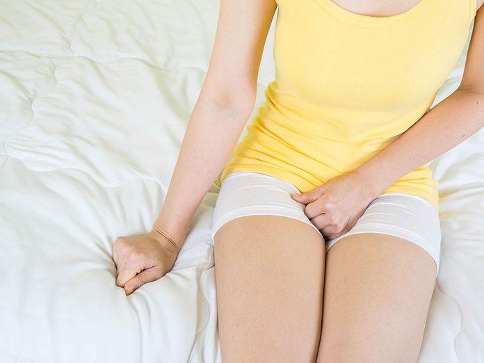 N'hésitez pas à demander conseil à votre gynécologue sur les écoulements vaginaux.