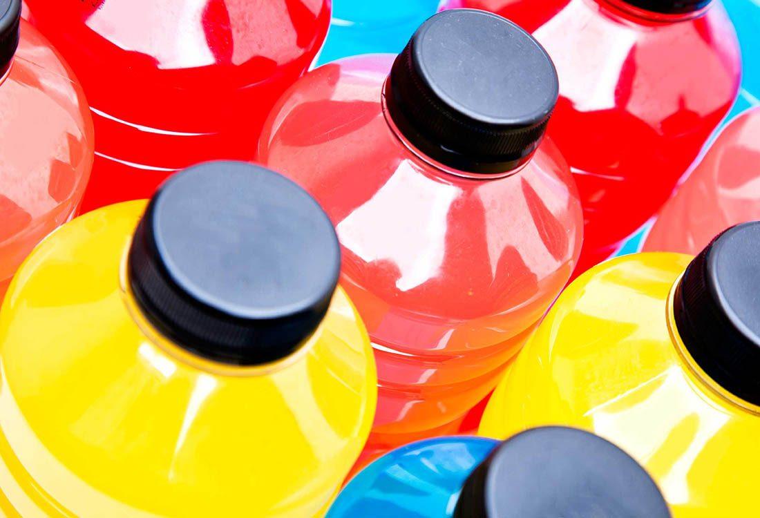 Les dents sont abîmées par les boissons énergétiques.