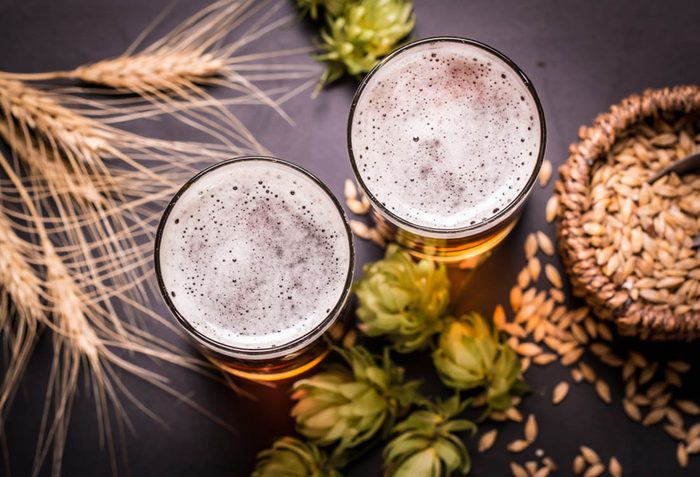 Pour maigrir avant les fêtes, limitez la consommation d'alcool.