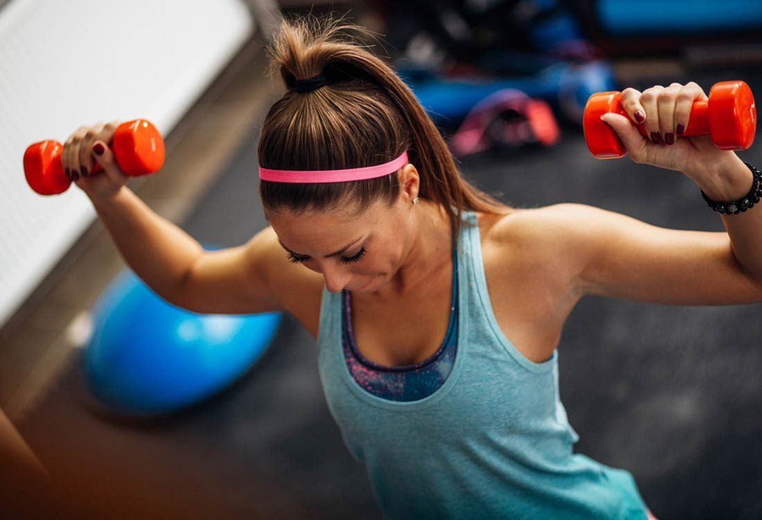 Pour maigrir avant les fêtes, faites de la musculation.