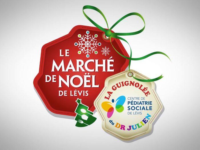 Le marché de Noël de Lévis.