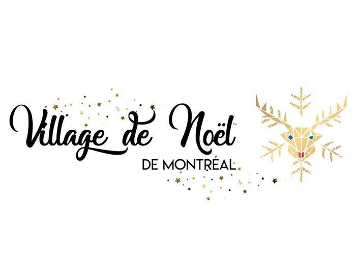 Marché: village de Noël de Montréal.