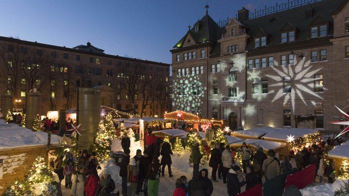 Marchés de Noël à visiter : le Noël allemand de Québec.