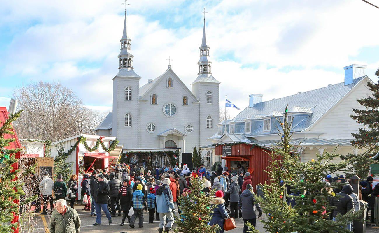 Marchés de Noël à visiter : Noël d'antan à Cap-Santé.