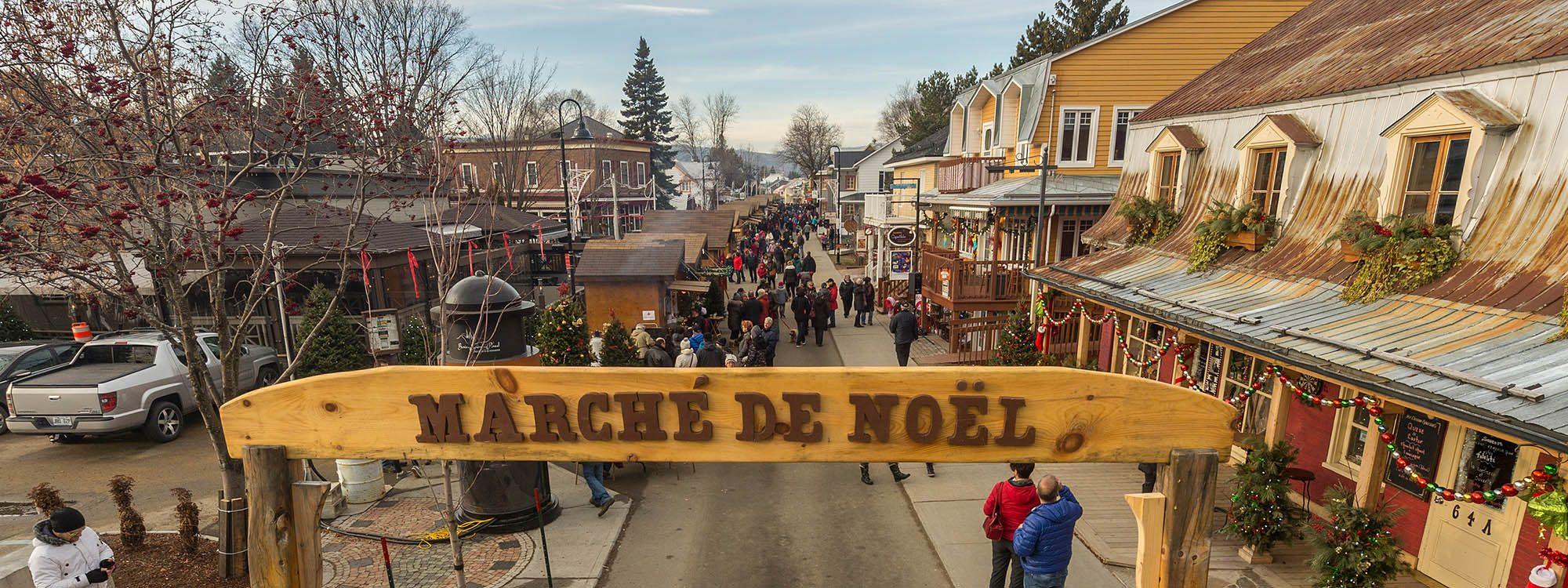 Marchés de Noël à visiter : marché de Joliette.