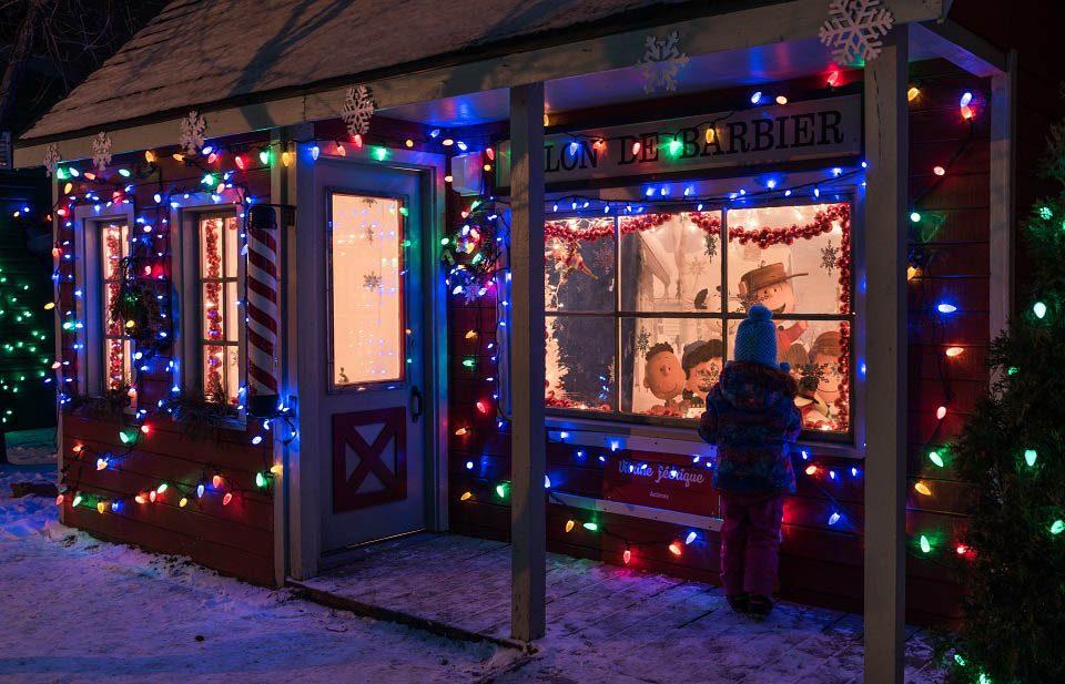 Marchés de Noël à visiter : marché de Laval.
