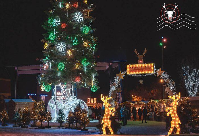 Marchés de Noël à visiter : marché de Sutton.