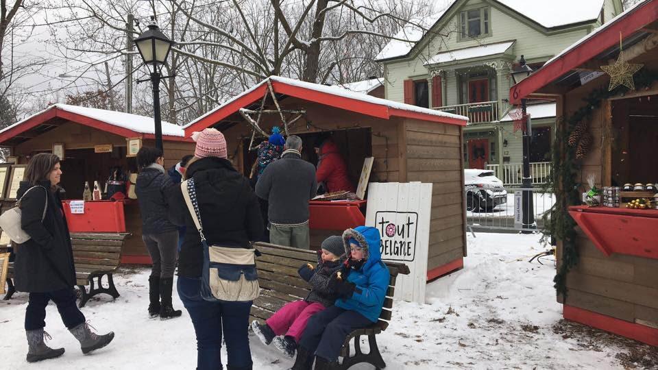Marchés de Noël à visiter : Noël européen de Baie-Saint-Paul.