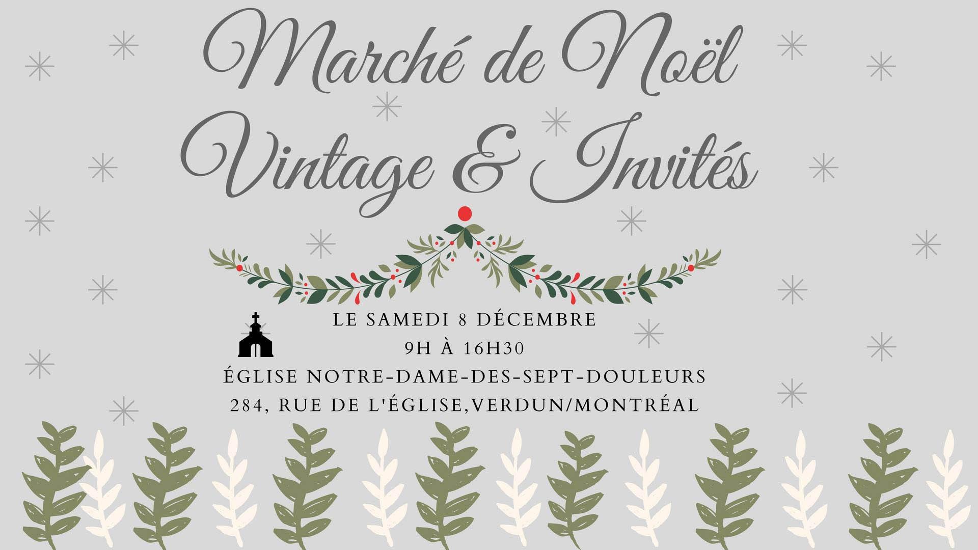 Marchés de Noël à visiter : marché vintage à Verdun.