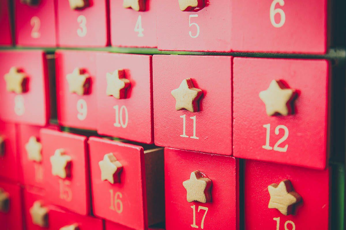 Pour un Noël zéro déchet, faite un calendrier de l'avent plus écologique.