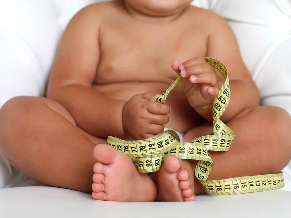 L'obésité est de plus en plus répandue chez les enfants.