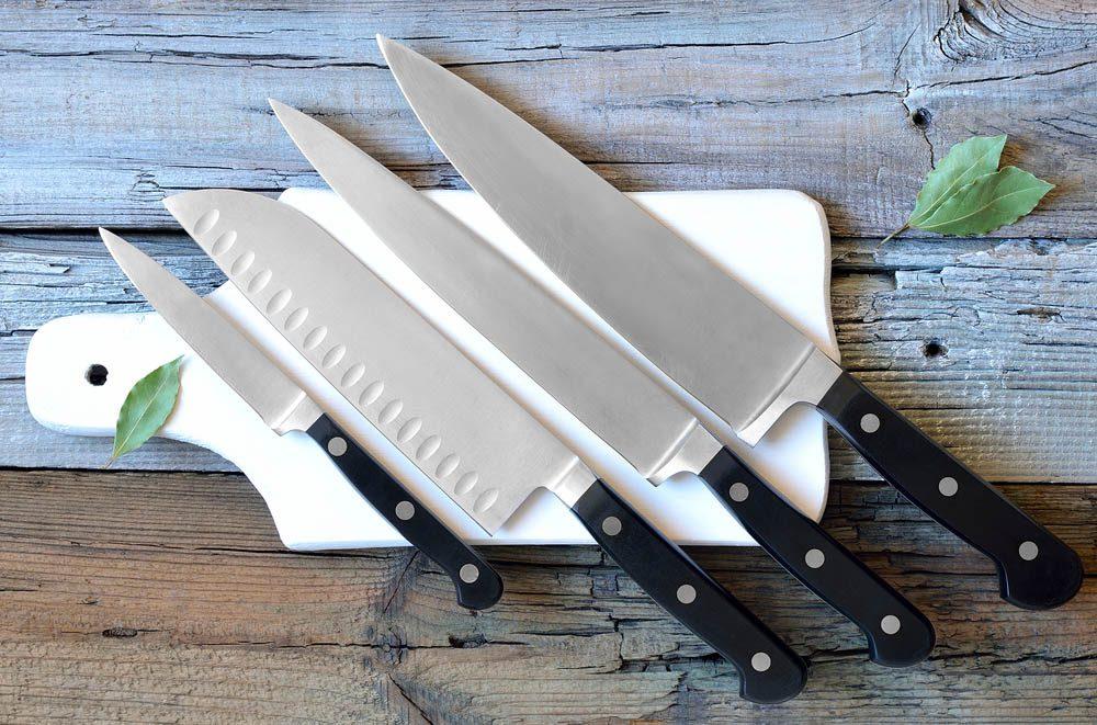 Objet du quotidien mal utilisé : les couteaux.