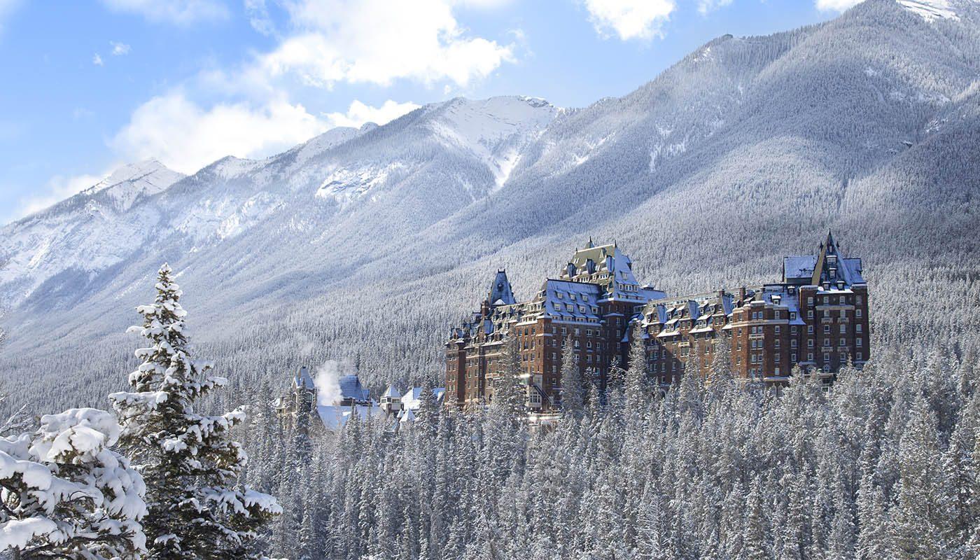 Le parc national de Banff propose des lieux d'hébergement pour toute la famille.