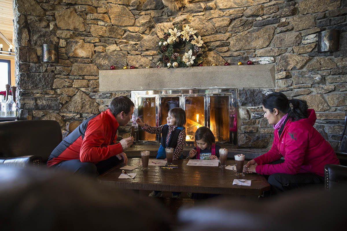 Le parc national de Banff offre des restaurants pour tous les goûts.