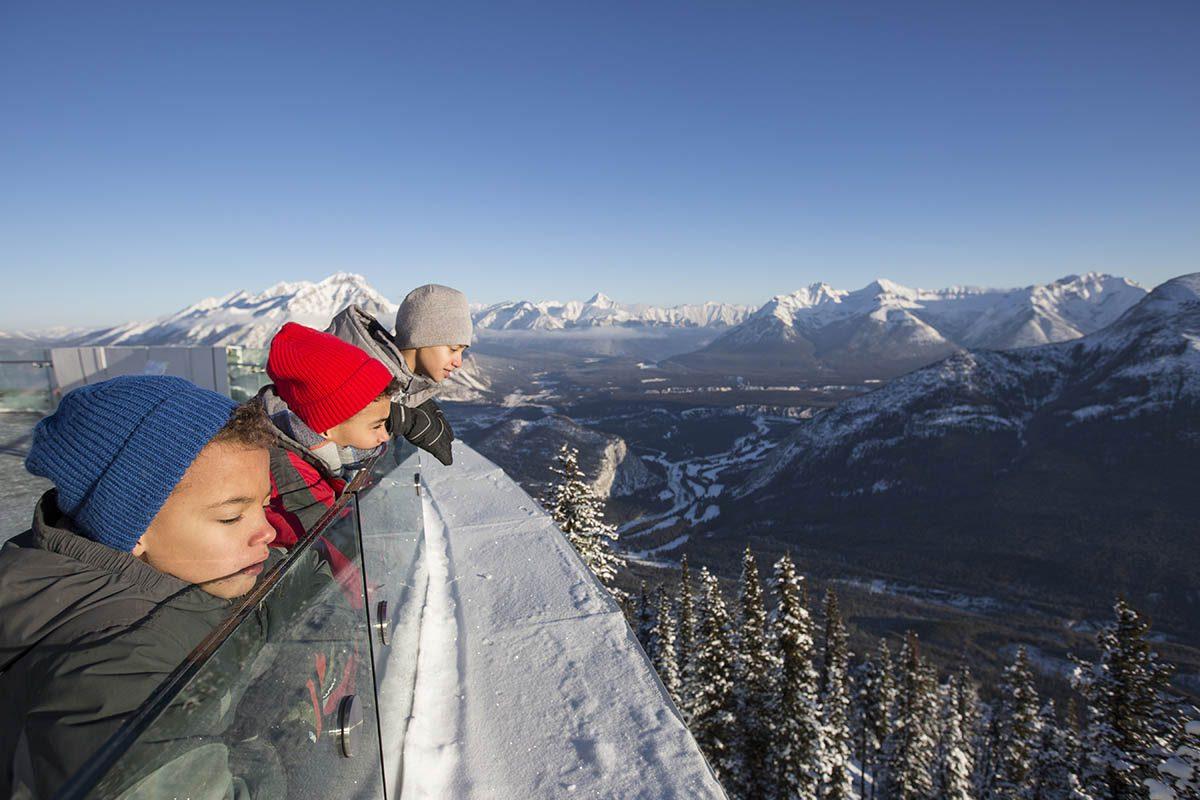 Le parc national de Banff permet de se connecter avec la nature.