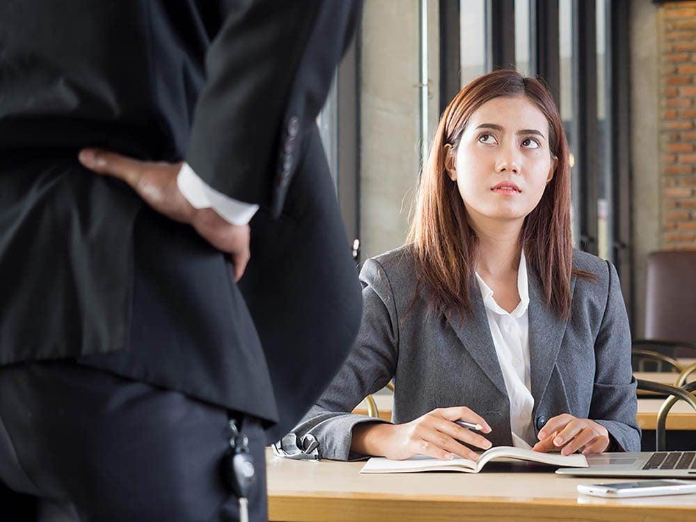 Le patron sait que vous êtes responsable quoi qu'il arrive.