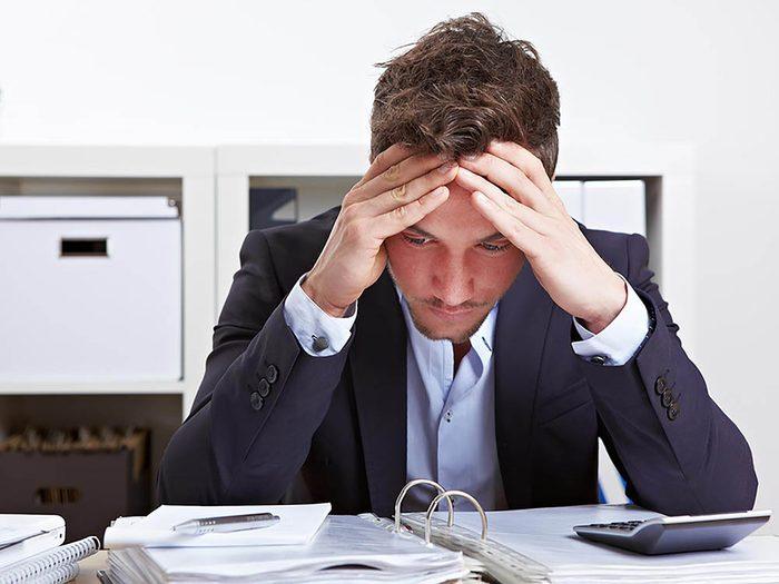 Le patron le présente pas un problème sans avoir réfléchi à une solution.