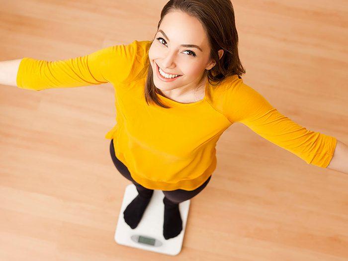 Une perte de poids rapide n'est pas une perte de gras.