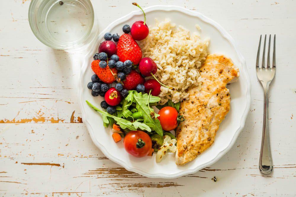 Perte de poids : tout est question de contrôle des portions.