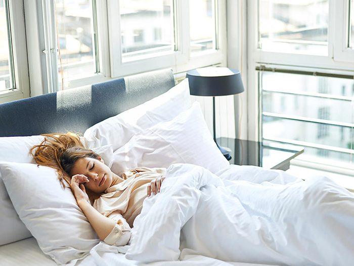 Le sommeil est le troisième fondement de la perte de poids.