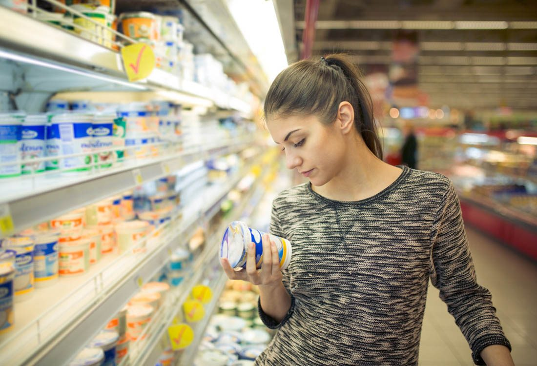 Pour perdre du poids, lisez les étiquettes nutritionnelles.