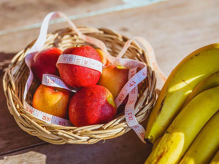 L'alimentation est plus importante que l'exercice pour perdre du poids.