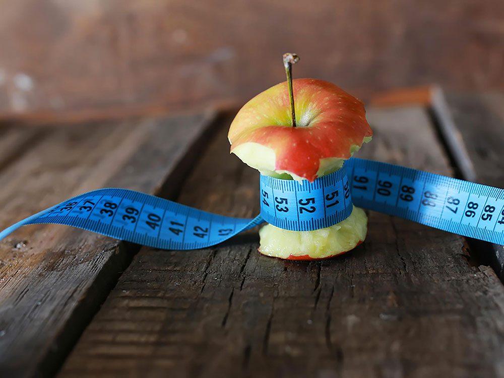 La perte de poids n'est pas linéaire.