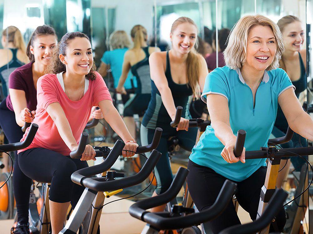 Vous devez aussi faire de l'exercice pour perdre du poids.