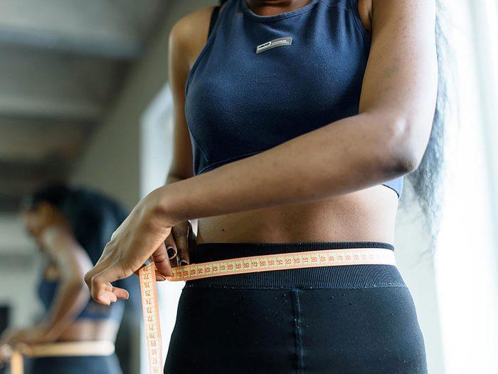 Ayez la bonne attitude pour perdre du poids.