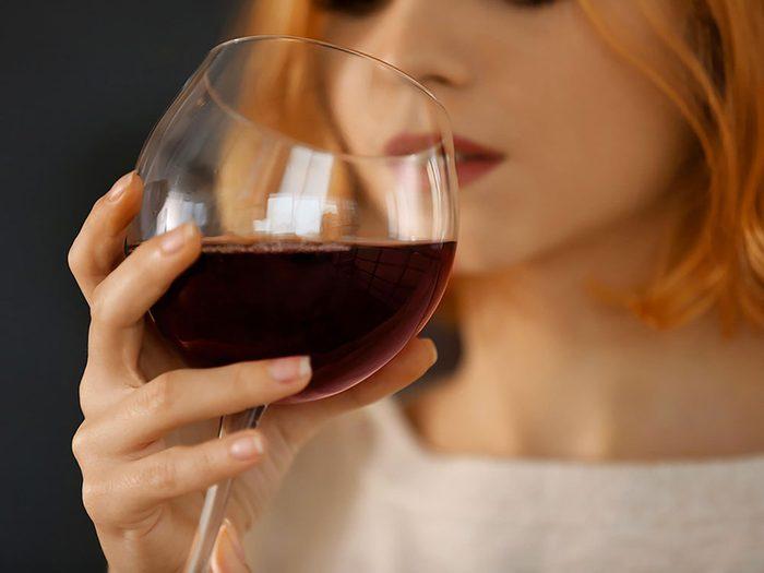 L'alcool empêche la perte de poids.