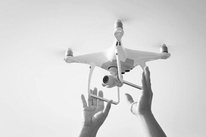 La Première Guerre mondiale a initié les premiers vols de drones.