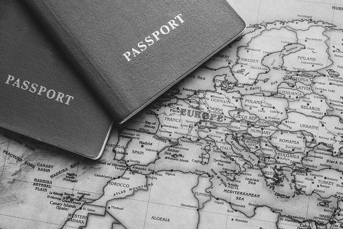 Depuis la première Guerre mondiale, les passeports sont tels que nous les connaissons.