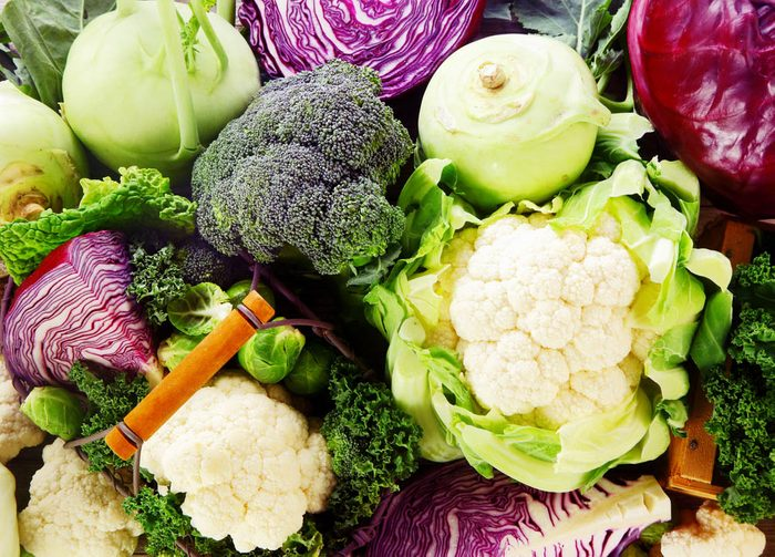 Pour prévenir le cancer, mangez des légumes crucifères.
