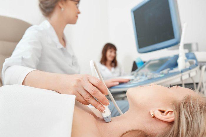 Un problème de thyroïde peut être traité facilement.