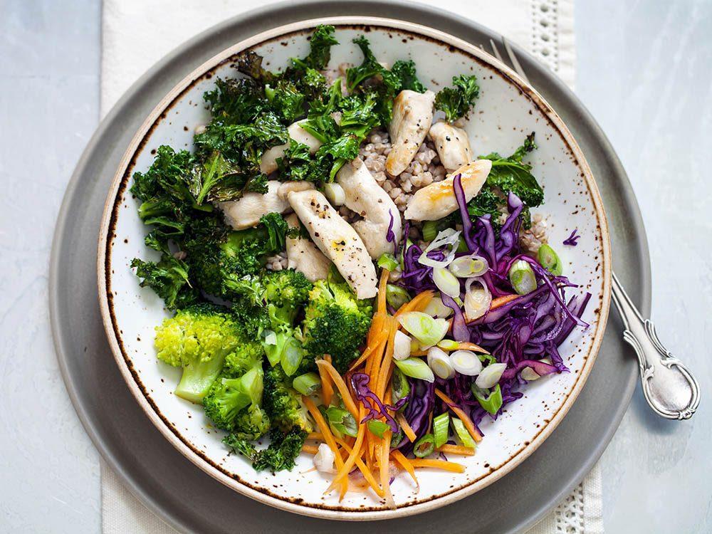 Recette de kale : panaché de choux sautés