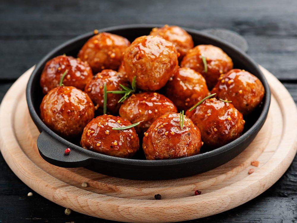 Recettes graine de chia : boulettes de viande.