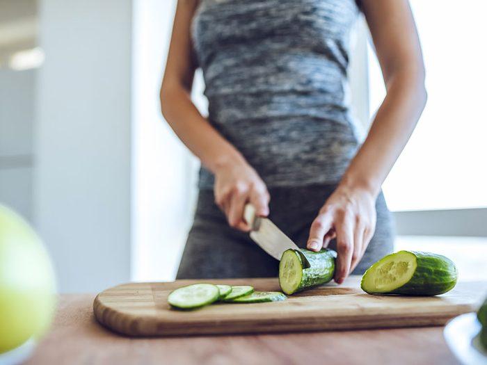 Les réactions inusitées du corps humain lorsqu'on suit un régime végétalien.