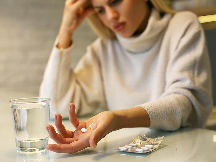 Les reins supportent mal la prise continuelle d'analgésiques.
