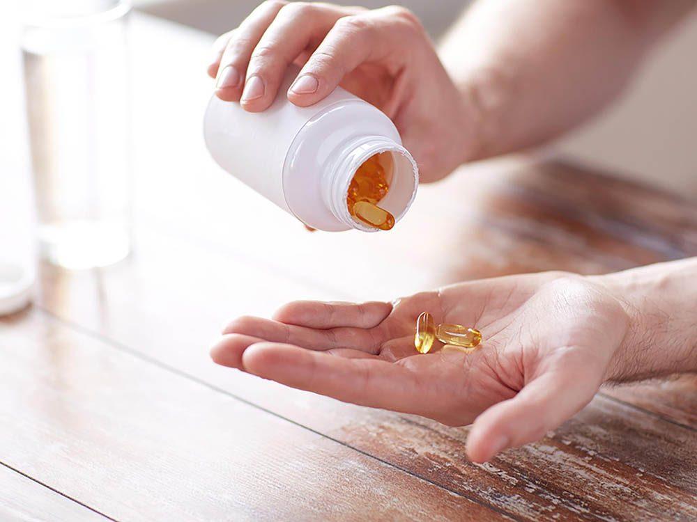 Les reins peuvent être mis en danger par les suppléments nutritionnels.