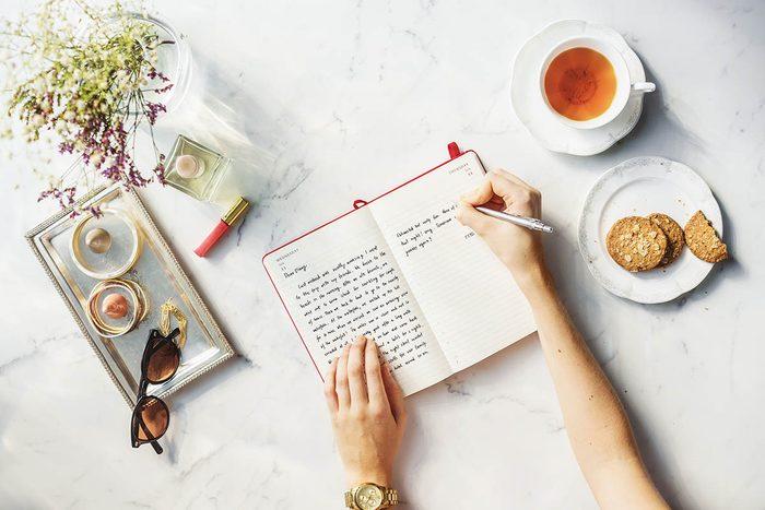 Pour se déconnecter, écrivez dans un journal.