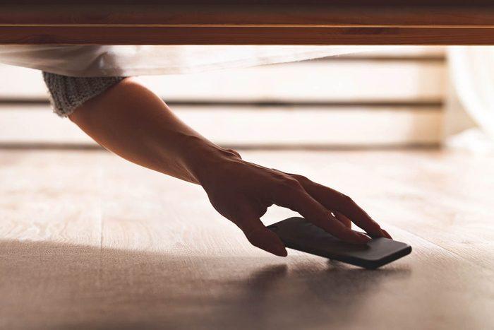 Pour se déconnecter, ranger votre téléphone hors de vue.