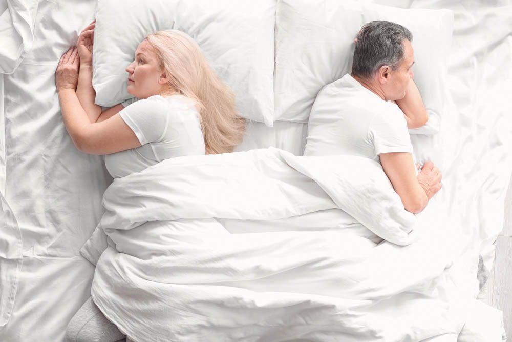Une perte d'intérêt pour le sexe est courant chez les femmes.